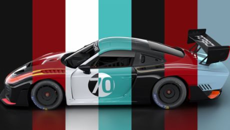 Seven custom liveries for the new Porsche 935