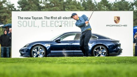 Porsche European Open: Paul Casey fulfils his Porsche dreams