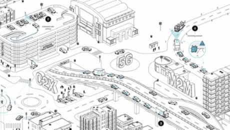 5G wireless networks: Fast network for smart cars