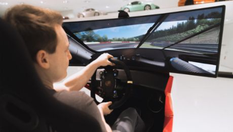 #GetCreativeWithPorsche: how to be a sim racer
