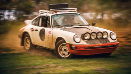 The Drift Dance: Jim Goodlett and his Porsche 911 SC Rally car