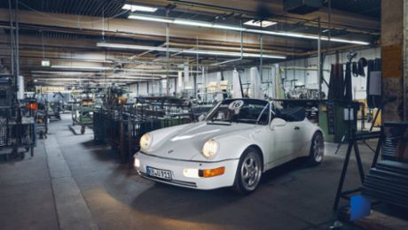 Fine Form – Ulf Moeller and his rare special-model 911 America Roadster