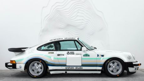 Daniel Arsham immortalises his life story in a 911 Turbo
