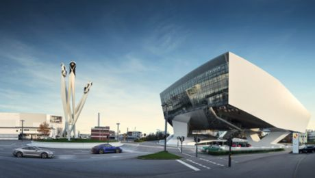 The Porsche Museum in Zuffenhausen opens again