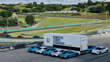 High-power charging trucks become mobile power sources