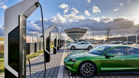 Porsche opens Europe's most powerful rapid-charging park in Leipzig