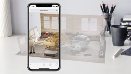 Brand experience via smartphone for Porsche employees