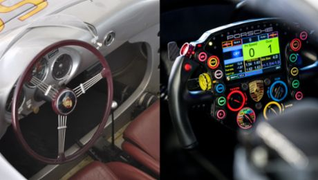 From simple steering wheel to multifunctional control centre