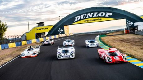 Six winners from Porsche in Le Mans
