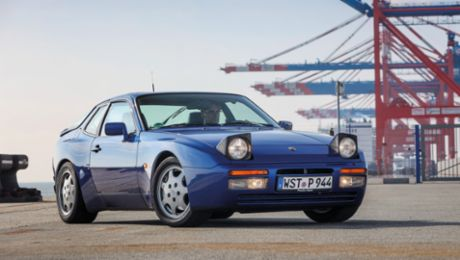 Glass dome – the partial restoration of the Porsche 944 S2