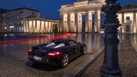 Premiere in Paris: 20 Jahre Porsche Carrera GT