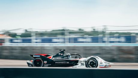 Positive Formula E debut season overall for Porsche
