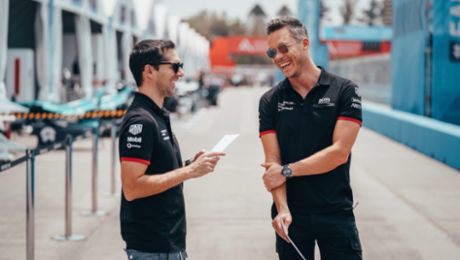 How André Lotterer and Neel Jani are mastering the Formula E finale in Berlin