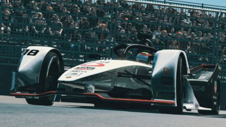 Neel Jani and André Lotterer celebrate top 10 finishes in New York