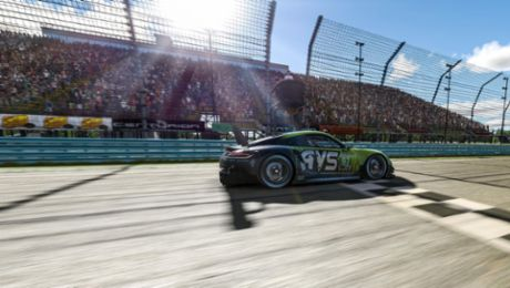 Best Porsche 911 RSR finishes finale in second
