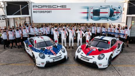 Seven IMSA years, seven titles: the Porsche 911 RSR in North America