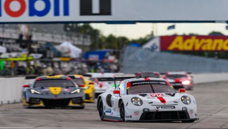 IMSA: Spirited performance earns Porsche a podium place