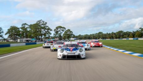 A Record of Success. North American Porsche GT Team Seals Record Book after Seven Seasons.