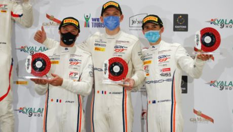 Porsche defends manufacturers' crown in the global GT3 series IGTC