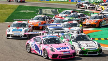 Jordan Love finishes with podium in Rookie classification in Porsche Mobil1 Supercup finale