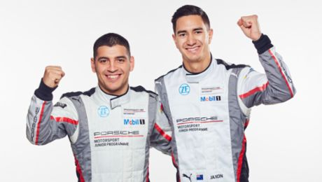 Porsche Juniors and their teams are ready for the new Supercup season