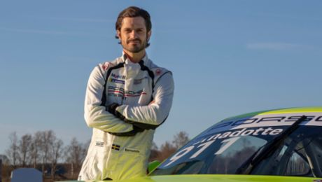Prince Carl Philip of Sweden to race in Porsche Carrera Cup Scandinavia