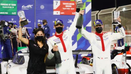 One-two for Porsche at the WEC season finale with the 911 RSR