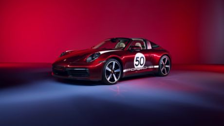 Hommage an die Tradition: Die 911 Targa 4S Heritage Design Edition
