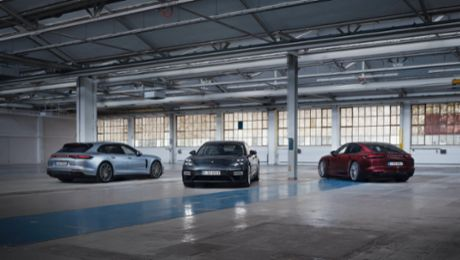 Porsche launches three new Panamera models