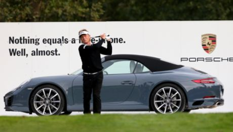 For the cars and golf – the Porsche European Open's top stars