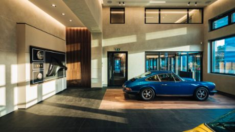 Switzerland's first Porsche Classic Centre opens in Geneva