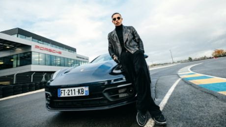 Porsche collaborates with Balmain's Creative Director Olivier Rousteing