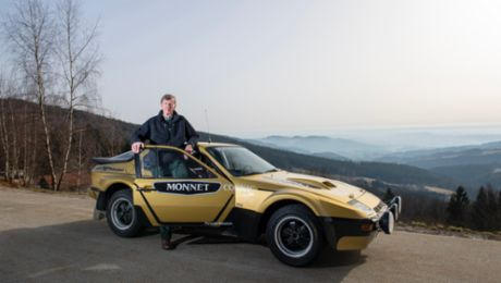 Reunion after 40 years: Walter Röhrl and the 924 Carrera GTS Rally