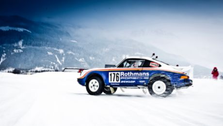 Winter warmer: how the spectacular GP Ice Race came about