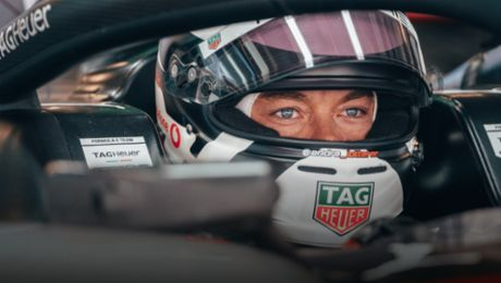 André Lotterer looks back on a successful Formula E season with Porsche