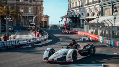 Unlucky Monaco premiere for the TAG Heuer Porsche Formula E Team