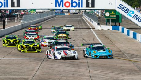 Porsche customer teams win the GT classes at Sebring