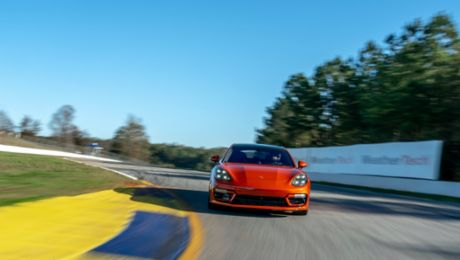 2021 Panamera Turbo S sets production saloon benchmark at Road Atlanta