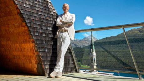 Star architect Lord Norman Foster: a life in lines