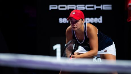 The world's top three ranked players at the Porsche Tennis Grand Prix