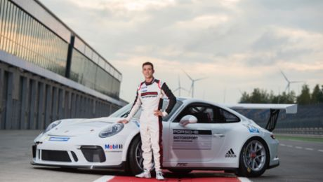 Julien Andlauer becomes new Porsche Junior