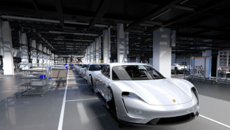 Porsche definitively enters electric era with the Taycan