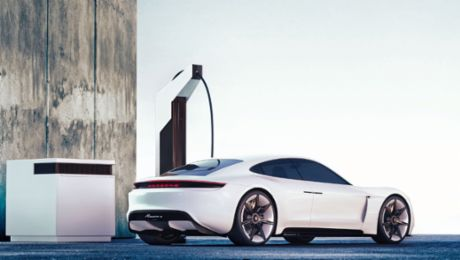 The Electric pit stop with Porsche Engineering