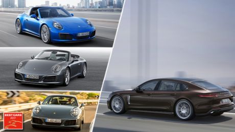 Best Cars 2017: Porsche sweeps the board