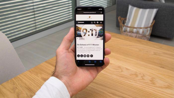 Porsche launches new media portal for Switzerland