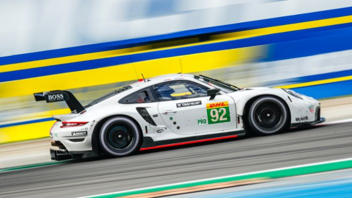 Strong line-up: twelve Porsche 911 GT3 R tackle the Spa 24 Hours