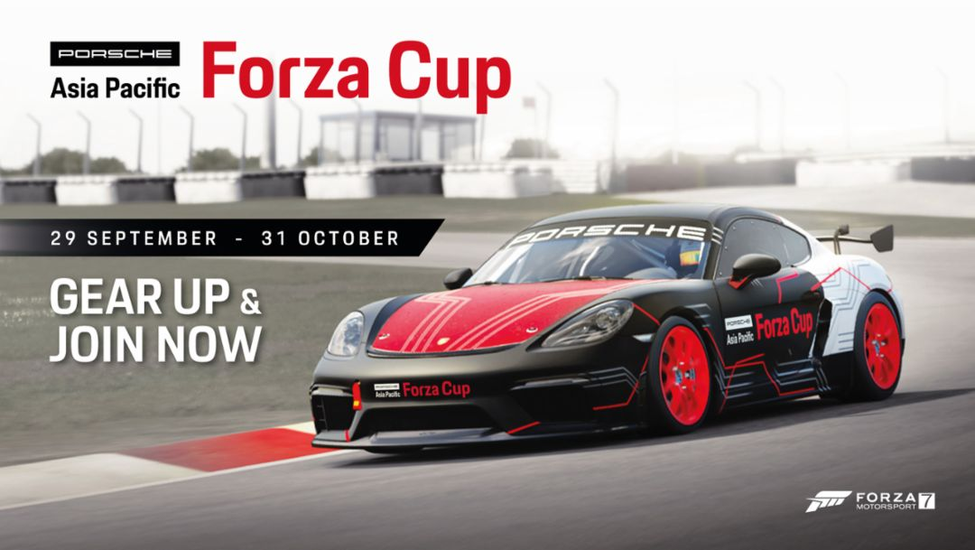 Porsche to host its first regional Esports tournament with Forza in Asia Pacific