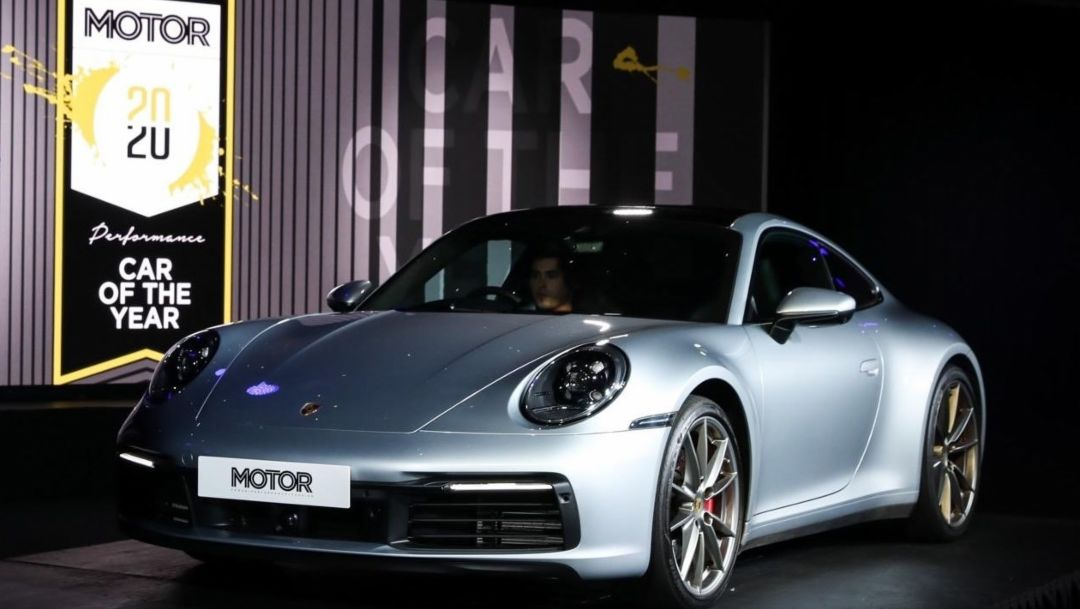 911 Carrera S wins 2020 MOTOR Magazine Performance Car Of The Year