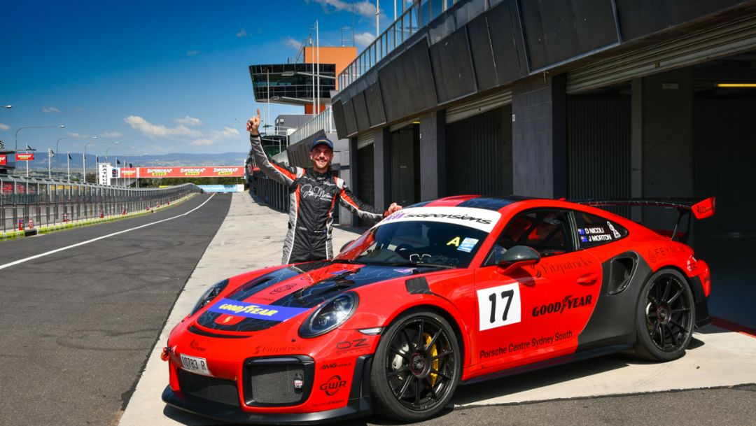 From beating brain cancer to beating the Bathurst lap record