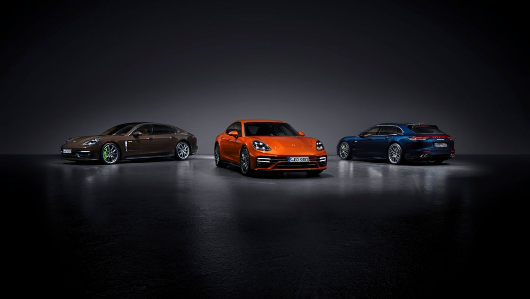 The new Porsche Panamera – best in class performance and a new hybrid model